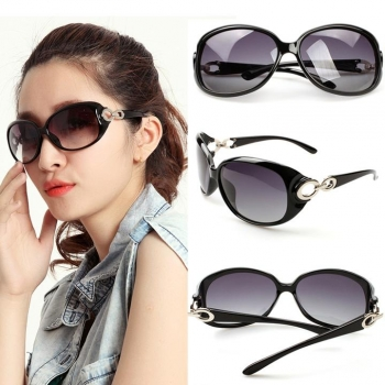 New Fashion Glasses Summer Sunglass Women Big Frame Vintage Retro Eyewear, Multicolor