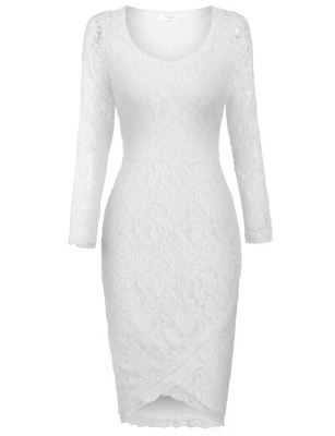 White Going Out Dresses