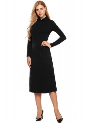 Long Business Dress