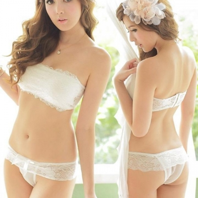 79a9b23479314 White Women Girl Floral Sexy Underwear